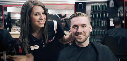 Sport Clips Haircuts of Waterville Elm Plaza​ stylist hair cut